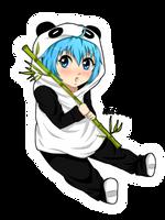 Chibi Panda by reiko-akire