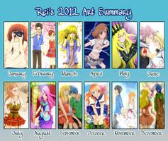 2012 Drawing Summary by reiko-akire
