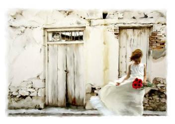 The Flower Girl by bookbabie