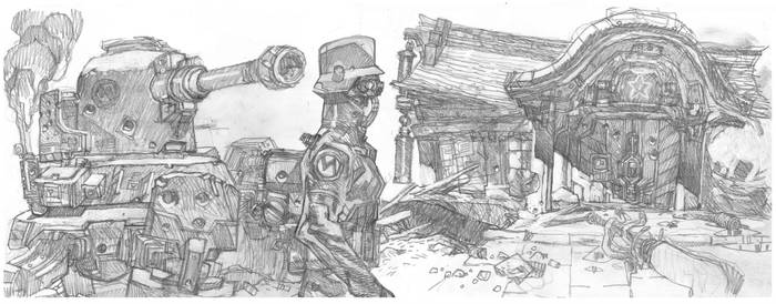 sketchbook by mariankiller