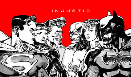 INJUSTICE main title by mariankiller