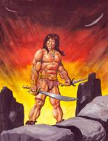 Conan the Defiant by avix