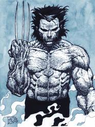 Wolverine - B+W Ver. 1 by avix