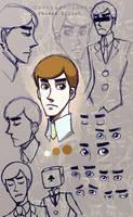 C-C: Elliot Sketches by Eeeevi