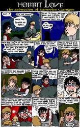 Hobbit Love: slash comic by Smorgasboredom