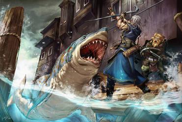 Shark Bridge by yanimator