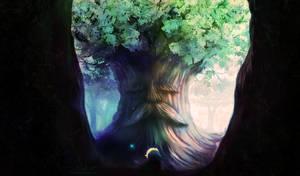 Whispers of the Great Deku Tree by SinsValentine