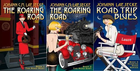 The Roaring Road series by RoadTripDog