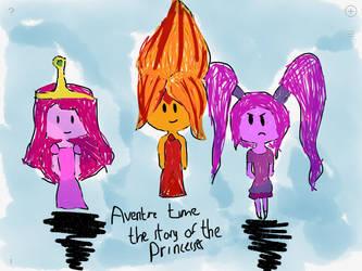 Adventure time princesses  by emeraldsky2007