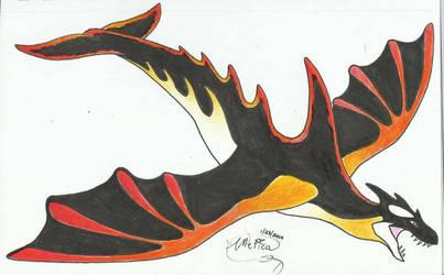 Vesuvius the Avian Cetadile! by AmericanBlackSerpent