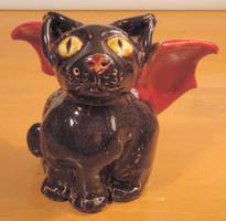 Deamon Kitty by sandrabong