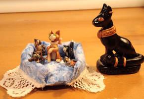 Mini kitties by sandrabong