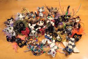 New Batch of Kitties by sandrabong
