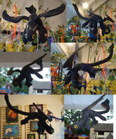 Nightfury Toothless Kind-of by sandrabong