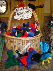 Dragons for Sale by sandrabong