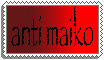 anti maiko stamp by Fufucuddleypoops