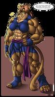 wellcome back Aranda! by faogwolf