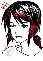 Rhi fan art by SAI182