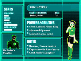 Young Justice-Kid Lantern by DiannaPhantom27