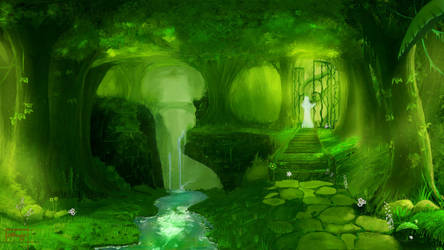 Spiritual Forest III by Fataliis