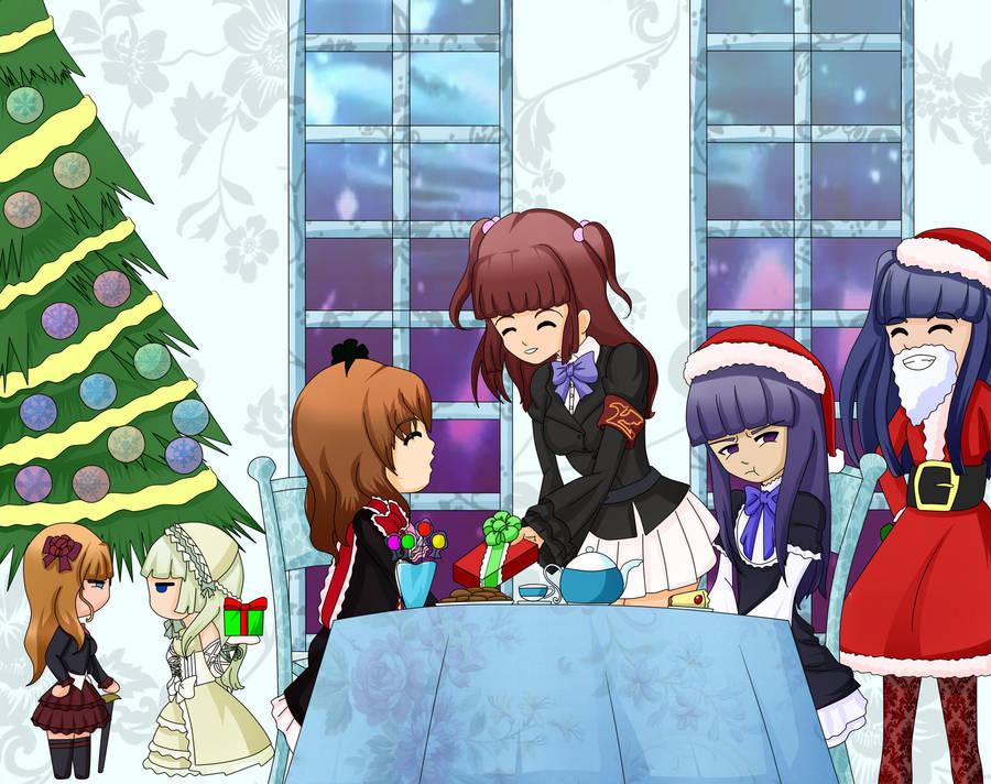 Merry Christmas Umineko by yamon-venzli