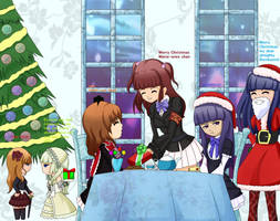 Merry Christmas Umineko text by yamon-venzli