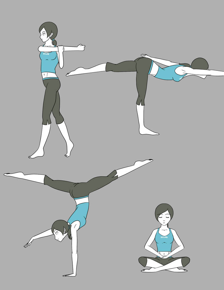 Wii Fit Trainer By Yamon-venzli On DeviantArt