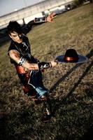 Leon Chiro as Kung Lao - MK9 Romics 2011 D.Germani by LeonChiroCosplayArt