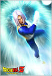 Leon Chiro as Future Trunks with Battle Suit by LeonChiroCosplayArt
