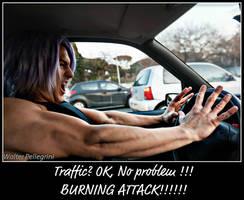 Future Trunks - Traffic? No problem - Just For Fun by LeonChiroCosplayArt