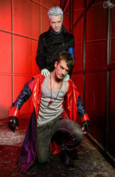 Red Nephilim Essence - Dante and Vergil by R.M. PH by LeonChiroCosplayArt