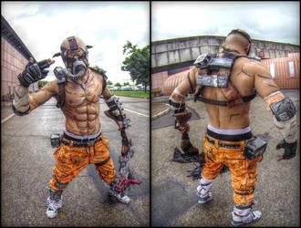 Psycho Krieg Borderlands 2 Leon Chiro Cosplay Art by LeonChiroCosplayArt
