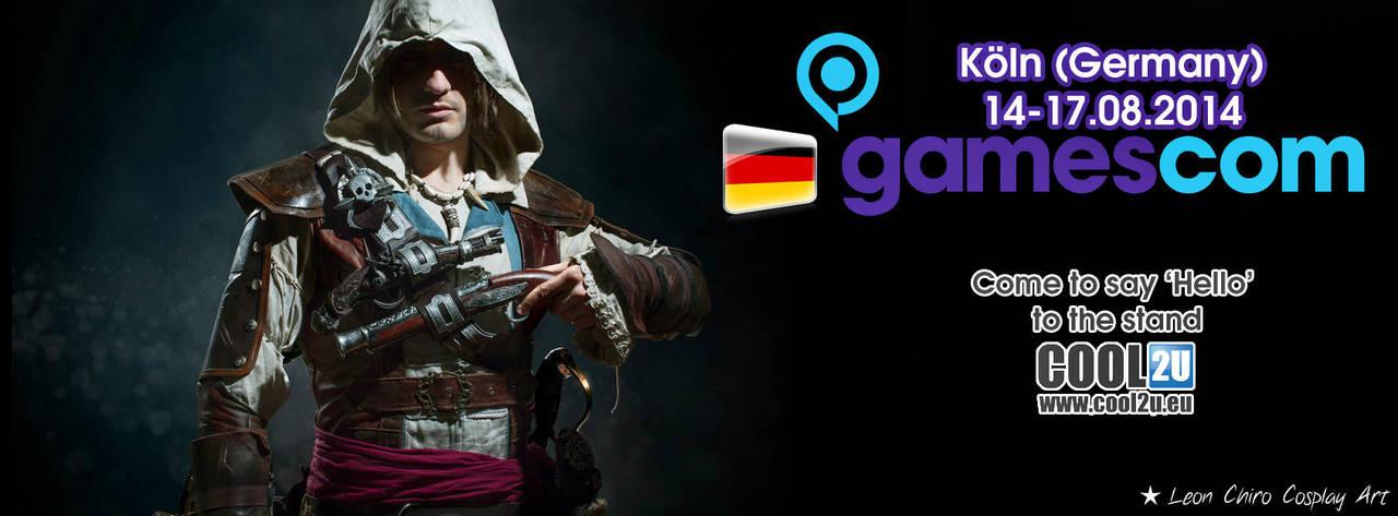 Leon Chiro Cosplay Art Announce to Gamescom 2014 by LeonChiroCosplayArt