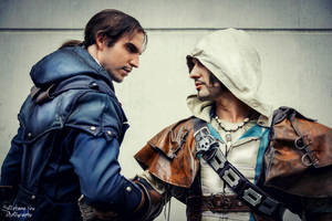 Assassin's Creed Brotherhood Power in Gamescom2014 by LeonChiroCosplayArt