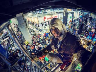 Leon Chiro in Gamescom 2014 Assassin's Mega Selfie by LeonChiroCosplayArt