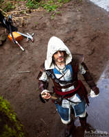 Relax Ending - Edward Kenway Cosplay AC IV by Leon by LeonChiroCosplayArt