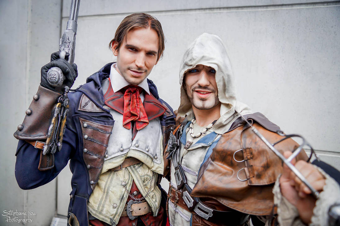 True Partners in Crime - Assassin's Creed Cosplay by LeonChiroCosplayArt