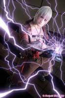 Dante Cosplay with Nevan by Leon Chiro - DMC 3 by LeonChiroCosplayArt