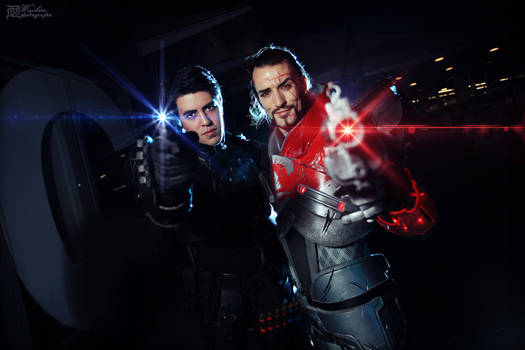 Leon Chiro and Nathan De Luca - Cosplay in PCE2014 by LeonChiroCosplayArt