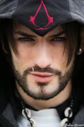 Leon Chiro as Ezio Auditore Coming on 14 FEB 2015 by LeonChiroCosplayArt