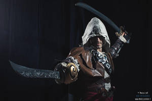 Edward Kenway Assassin Pirate - Cosplay by Leon C. by LeonChiroCosplayArt