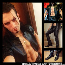 GLADIOLUS Cosplay Final Fantasy XV WIP -Leon Chiro by LeonChiroCosplayArt