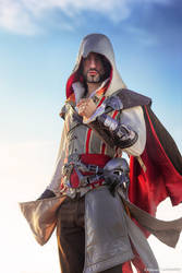 Ezio Auditore - Assassassin's Creed 2 Cosplay Art by LeonChiroCosplayArt