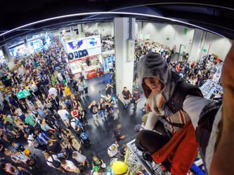 Synchronizing Gamescom 2015 - Ezio Cosplay by Leon by LeonChiroCosplayArt
