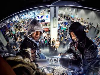 Leon Chiro and RBF -Assassin Synchro Gamescom 2015 by LeonChiroCosplayArt