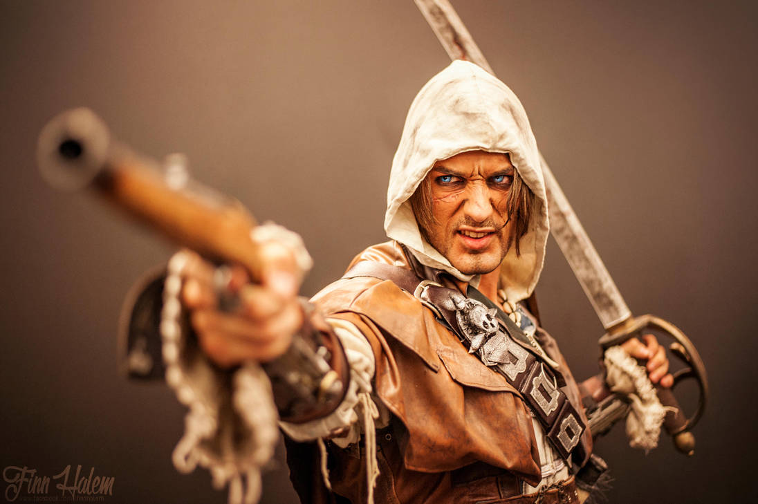 Edward Kenway is BACK- Assassin's Creed IV Cosplay by LeonChiroCosplayArt
