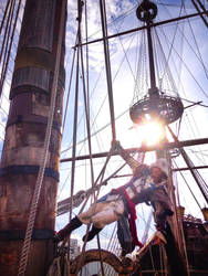 Edward Kenway Assassin's Creed Cosplay - BACKSTAGE by LeonChiroCosplayArt