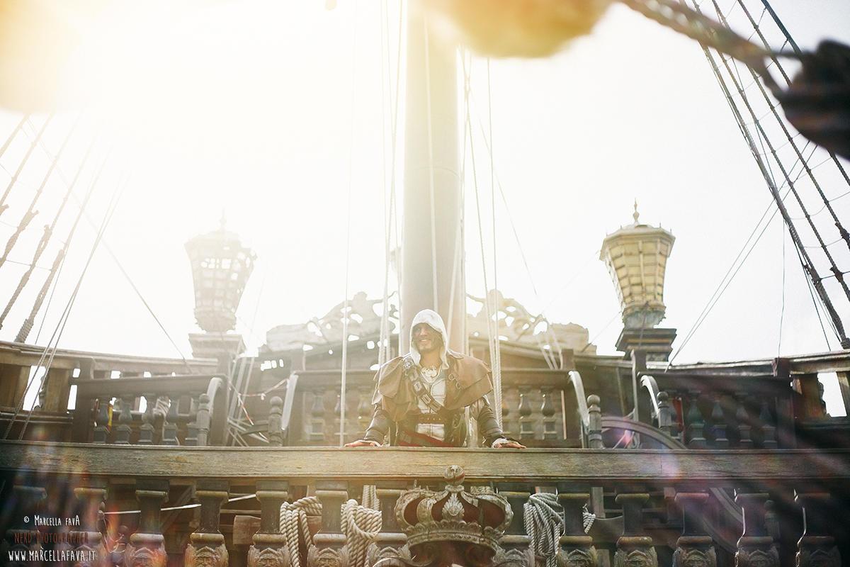 Edward Kenway - Assassin's Creed IV - Backstage S by LeonChiroCosplayArt