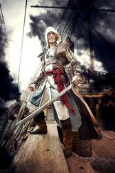 Boarding Time! - Assassin's Creed IV E. Kenway by LeonChiroCosplayArt