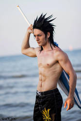 Zack Fair - Final Fantasy VII Crisis Core Cosplay by LeonChiroCosplayArt